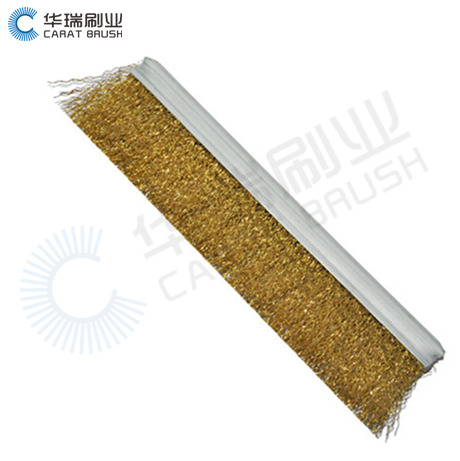 Coppered Steel Wire Strip Brush